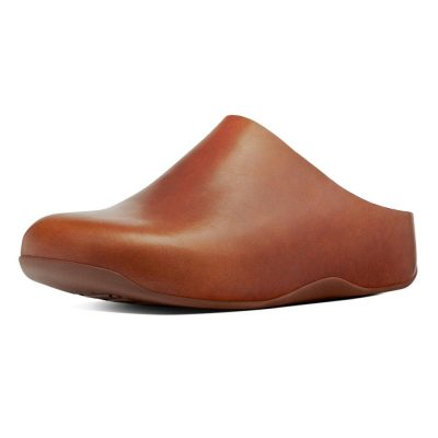 FITFLOP Shuv dark tan leather