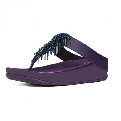 FITFLOP cha cha pomp purple