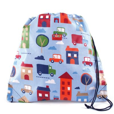 PENNY SCALLAN Drawstring bag big city