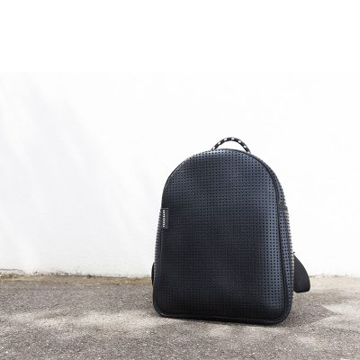 Prene Bags Perforated Neoprene Backpack Black