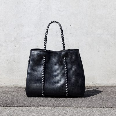 Prene Bags Perforated Neoprene Freddie Black Metallic