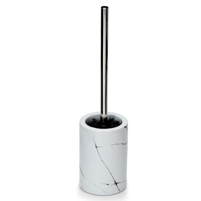 S&P Suds Marble toilet brush holder