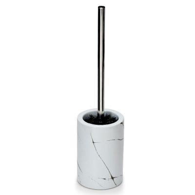 S&P Suds Marble toilet brush holder
