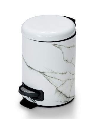 S&P Suds marble rubbish bin