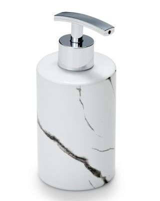 S&P Suds marble soap dispenser