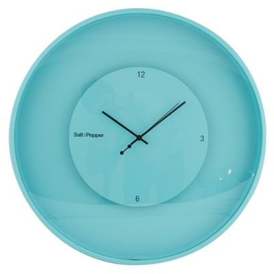 S&P Zone Floating Clock 30 cm Aqua