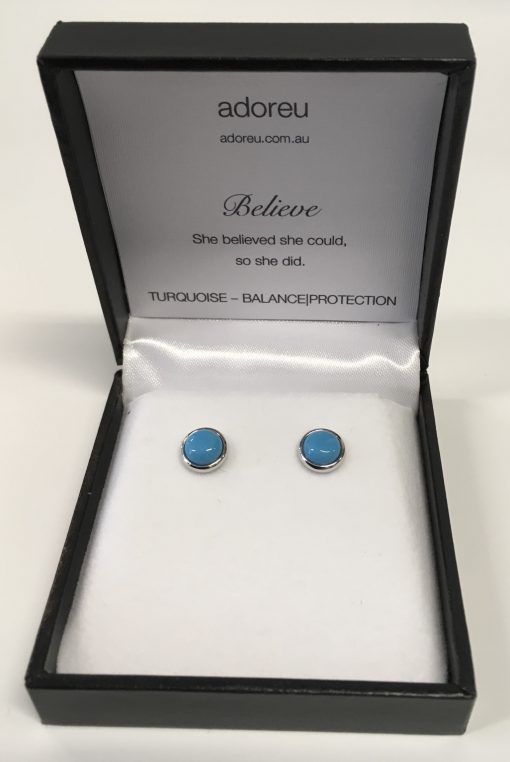 Adoreu earrings turquoise