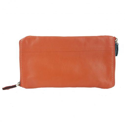 Glasses Double leather case orange