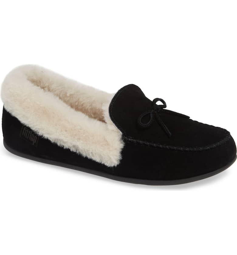 8b8e50a75a9 Fitflop Moccasin Slippers