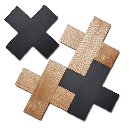 coasters timber cross