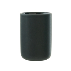 black toothbrush tumbler