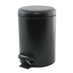 black peddle bin