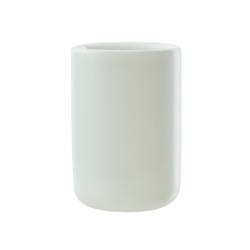 white toothbrush tumbler