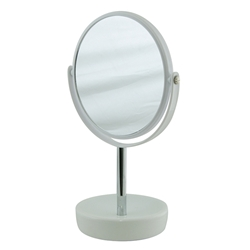 double sided mirror white