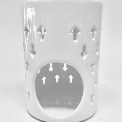 Oil burner arrow white