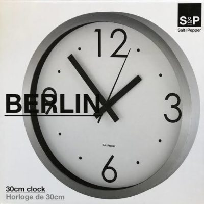 S&P Berlin clock boxed