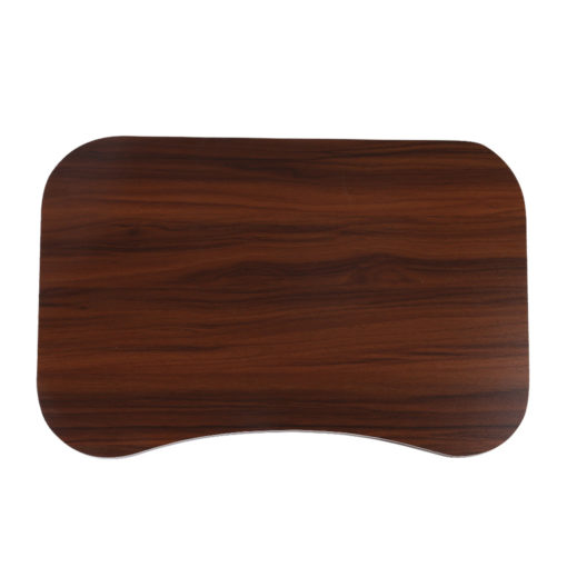 bed tray table dark wood 2
