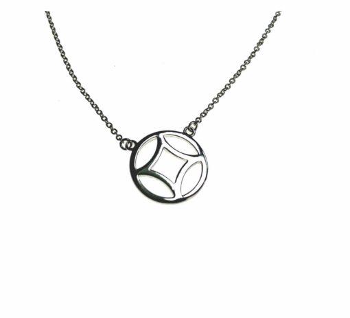 Adoreu Sterling silver necklace hope