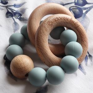 Teething toy blue