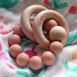 Teething toy pink
