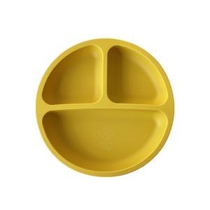 Adoreu baby silicone plate mustard