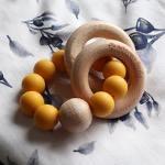 Adoreu teething toy mustard