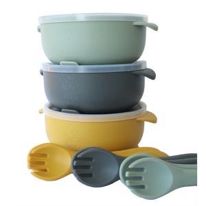 Adoreu baby silicone feeding bowl