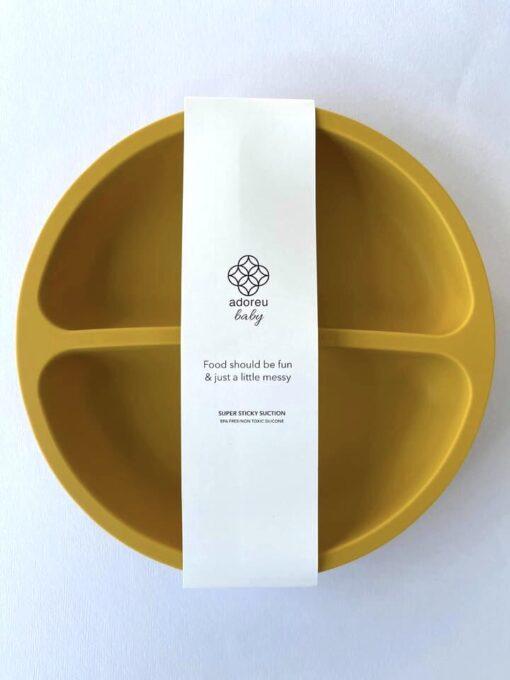 Mustard plate label