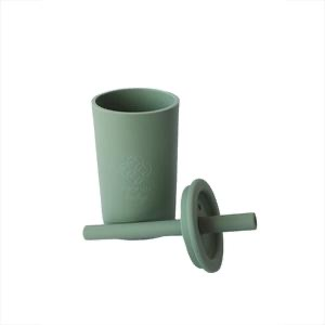 Silicone cup sage