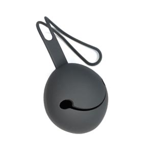 Silicone baby snack charcoal